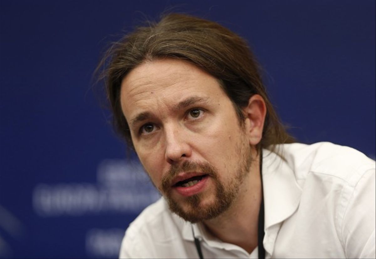 Pablo Iglesias, líder de Podemos, en el Parlamento de Estrasburgo, el pasado 1 de julio.