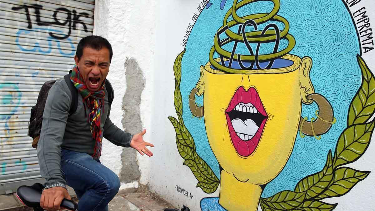 William Arunategui, director del Festival Internacional Solidario de Oralidad, que se celebrará este sábado en el Centre CívicTrinitatVella.