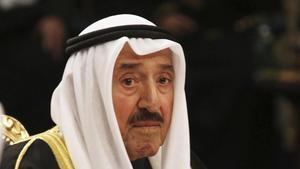El fallecido emir de Kuwait, el jeque Sabah Al Ahmad Al Sabah.
