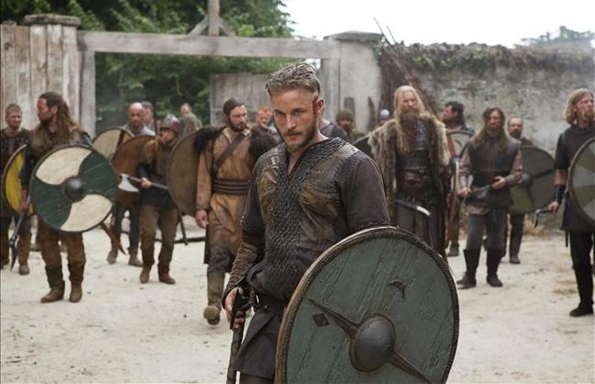 Una secuencia de la serie 'Vikingos'