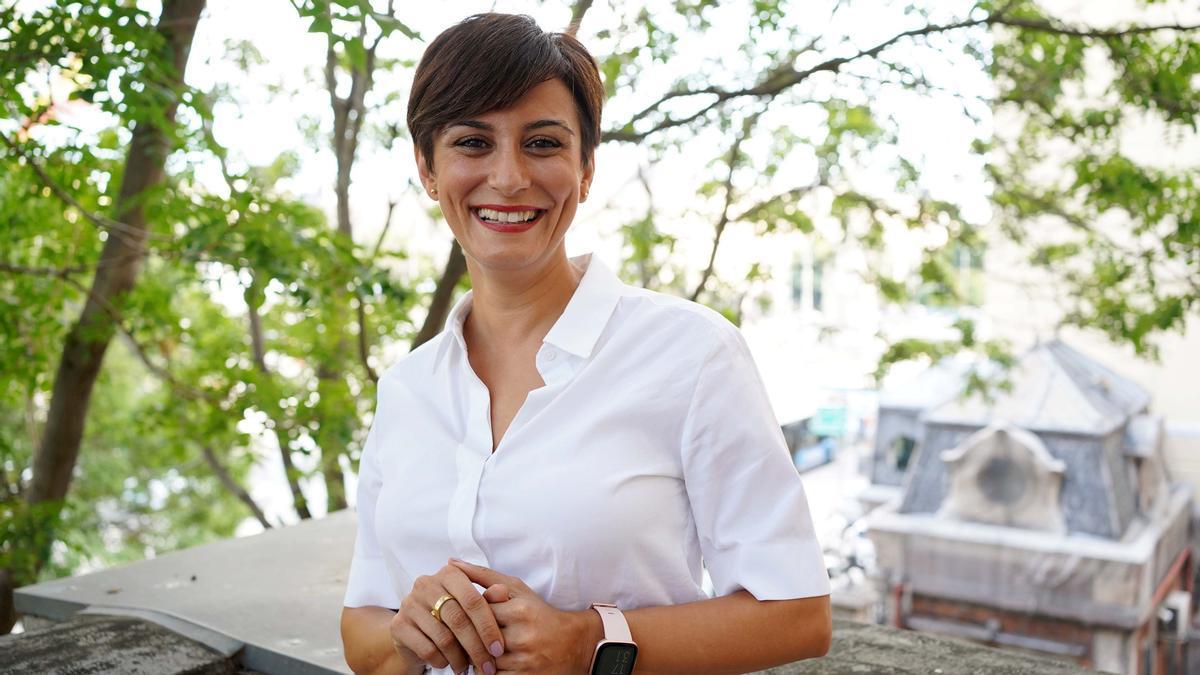 Isabel Rodríguez, ministra de Política Territorial y portavoz del Gobierno, durante su entrevista con EL PERIÓDICO. / DAVID CASTRO