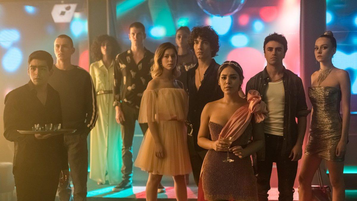 Imagen de la tercera temporada de 'Élite'.