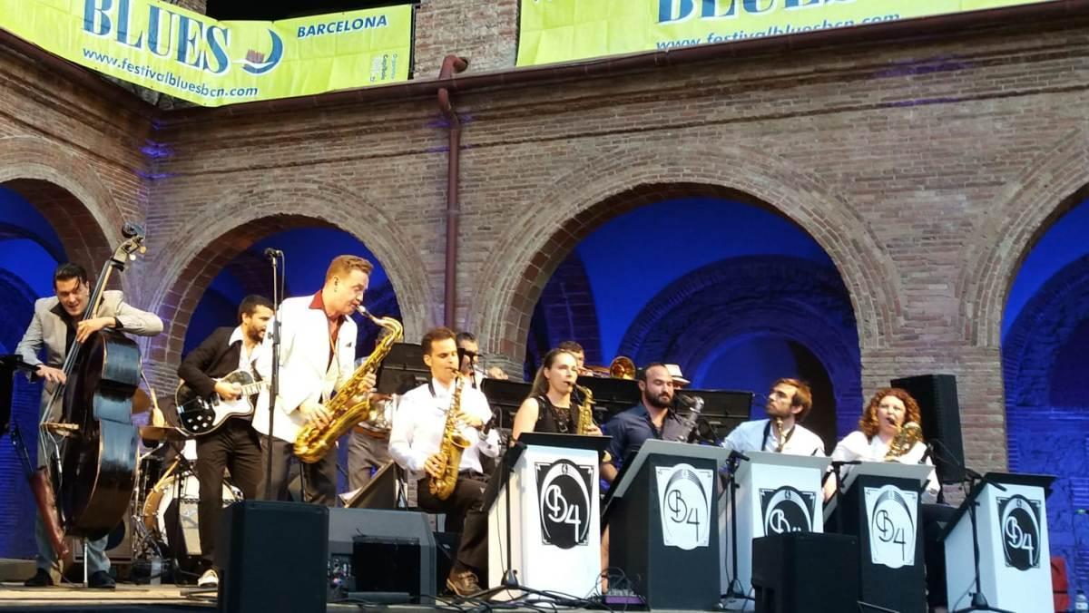 Dani Nel·lo (saxofón), en una edición anterior del Festival de Blues de Barcelona.