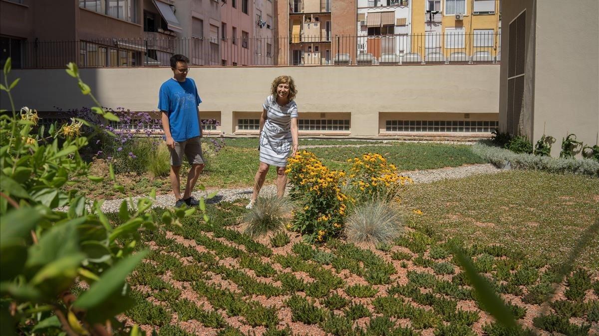 Barcelona desplega els seus terrats verds