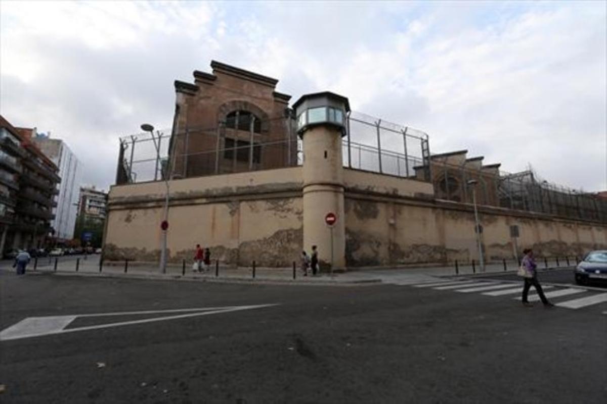 La cárcel Modelo, cuyo solar cedió la Generalitat al gobierno municipal de Trias a cambio de reducir la deuda.