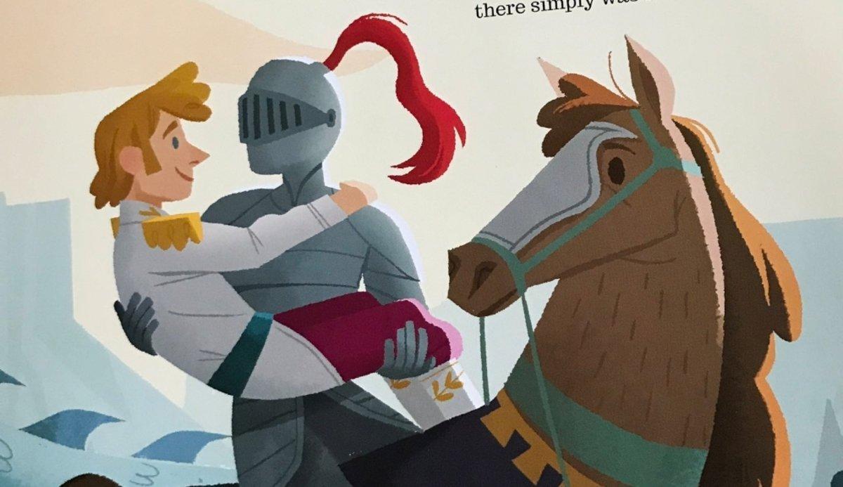 'El príncipe y el caballero', el cuento viral gay que emociona a las redes sociales