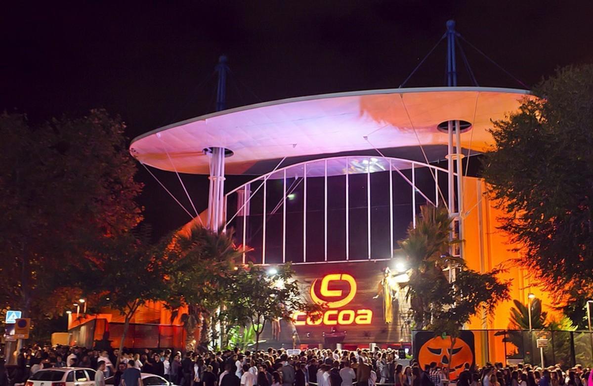 Imagen de archivo de la discoteca Cocoa en el polígono industrial Pla d'en Boet de Mataró.