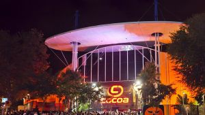 Discoteca Cocoa al polígonindustrial Pla d'en Boet de Mataró.