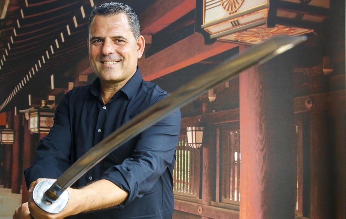 "Marcelo Japón: ""Soy un samurái mediterráneo"""