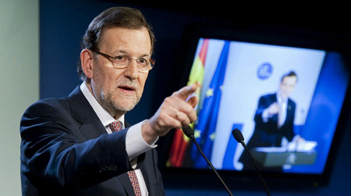 Rajoy dice no sentirse amenazado por Bárcenas ni ahora ni nunca.