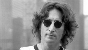 John Lennon, retratado en Nueva York en el verano de 1974.