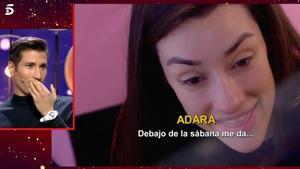 'GH VIP': Adara dona detalls sobre el que passava amb Gianmarco sota dels llençols