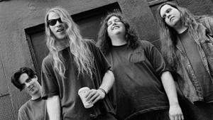 La banda de rock Screaming Trees.