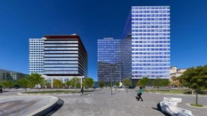 Proyecto inmobiliario de Iberdrola en plaza Europa.