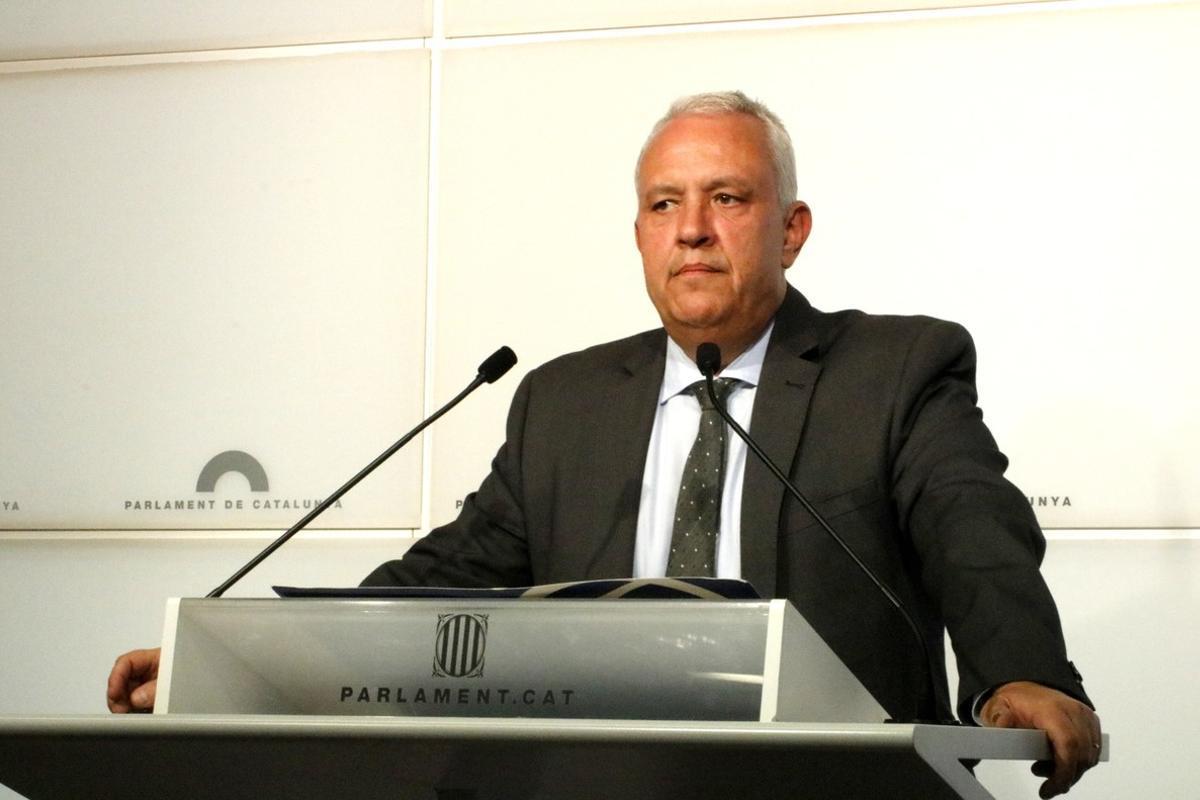 El portavoz delPP en Catalunya, Santi Rodríguez, hacriticado al Govern, mientrasha valorado el apoyodel Ayuntamiento en la disputa por la AEM.