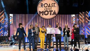 José Mota, Anabel Alonso y los invitados de 'El Roast'.