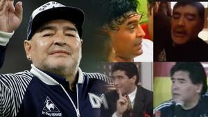 Muere Maradona: momentazos, broncas y su paso por 'Gran Hermano' y 'Hola Raffaella' en TVE