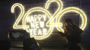 Celebración del Año Nuevo en Seúl, Corea del Sur.