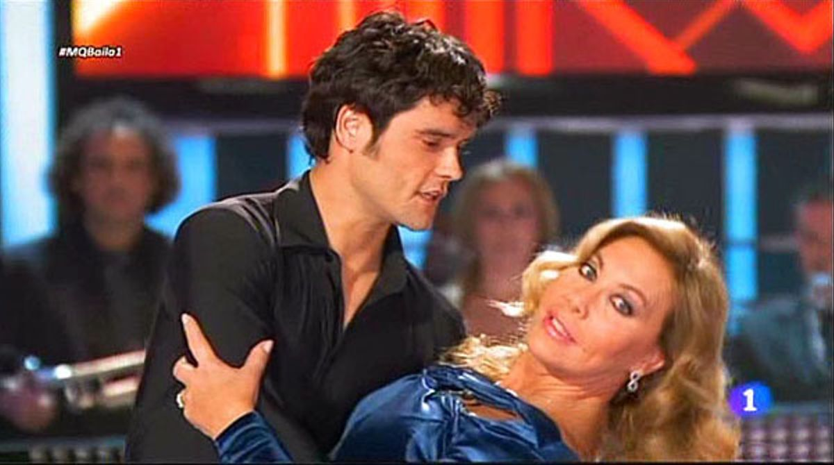 Norma Duval ha reaparecido en '¡Mira quién baila!' (TVE-1).