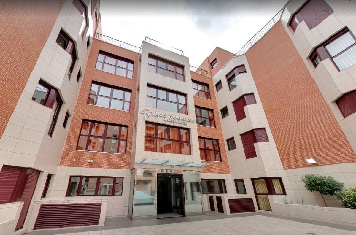 Una de las residencias del grupo Los Nogales en Madrid.