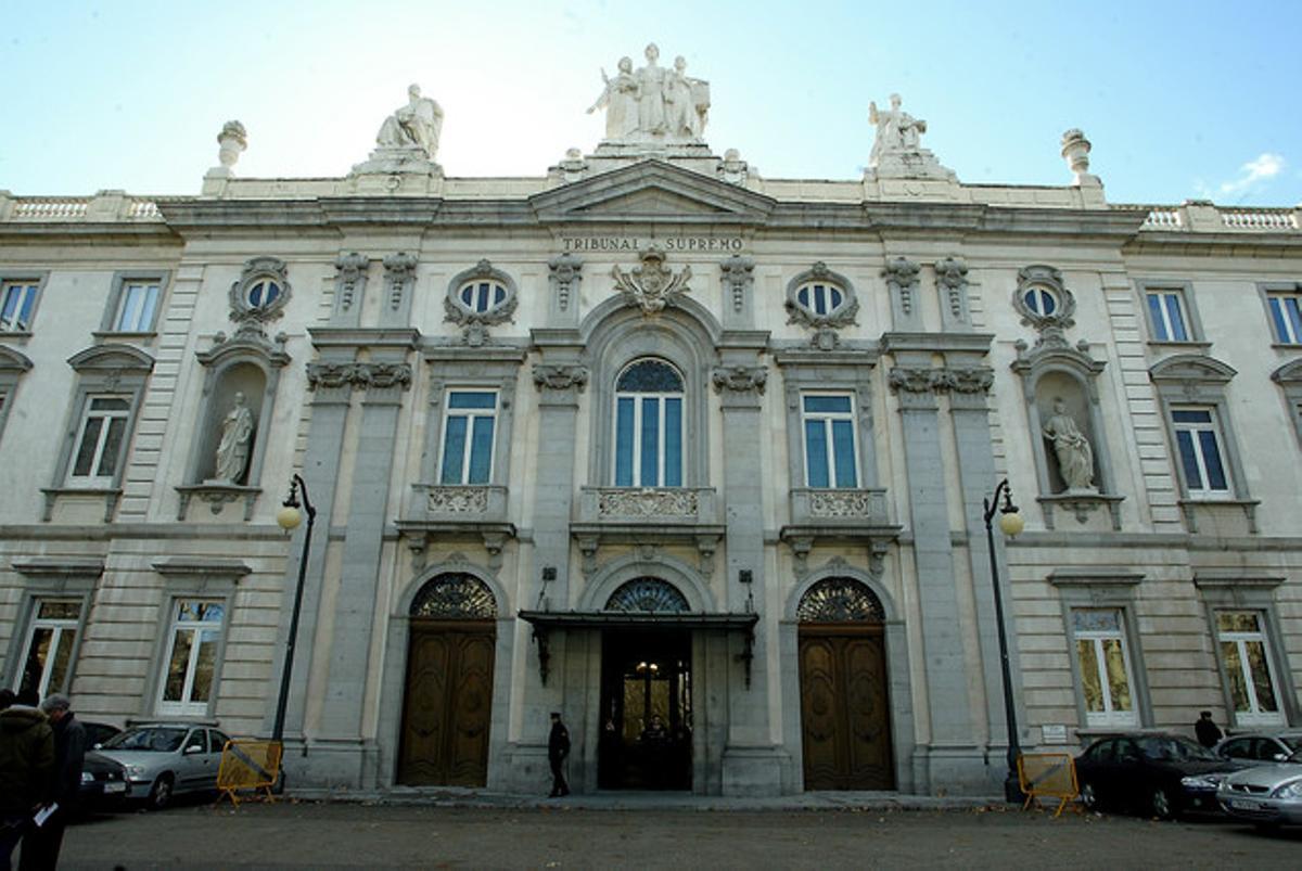 Imagen del Tribunal Supremo de Madrid.