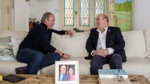 Bertín Osborne y Antonio Resines en 'Mi casa es la tuya'.