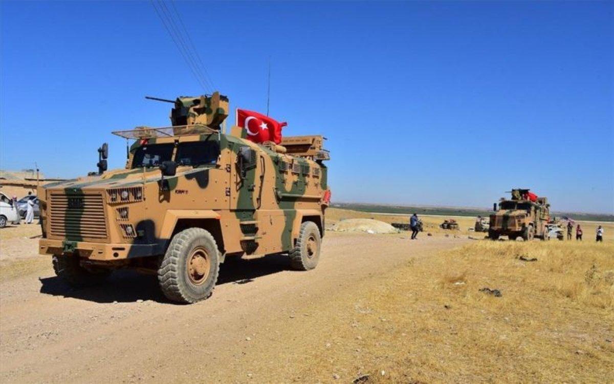 Fuerzas del ejército turco.