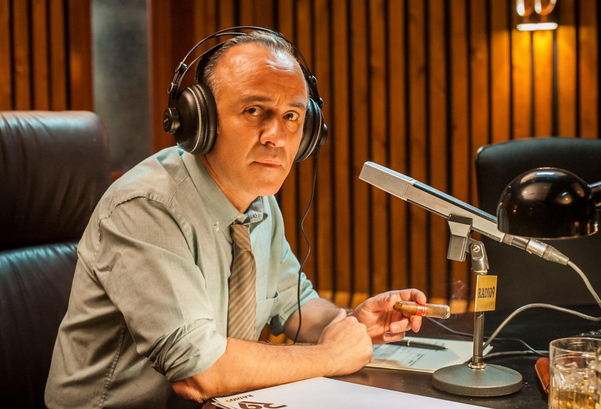Javier Gutiérrez como Paco Maldonado 'El Cóndor'.