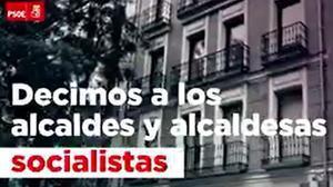 Vídeo del PSOE en defensa de los alcaldes del PSC.