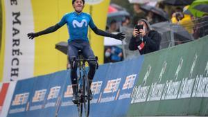 Marc Soler se anota la victoria en la tercera etapa del Tour de Romandía, en Suiza.