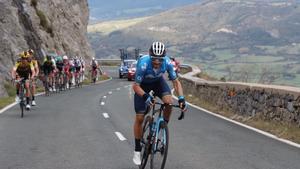 Alejandro Valverde, en la Vuelta 2020.