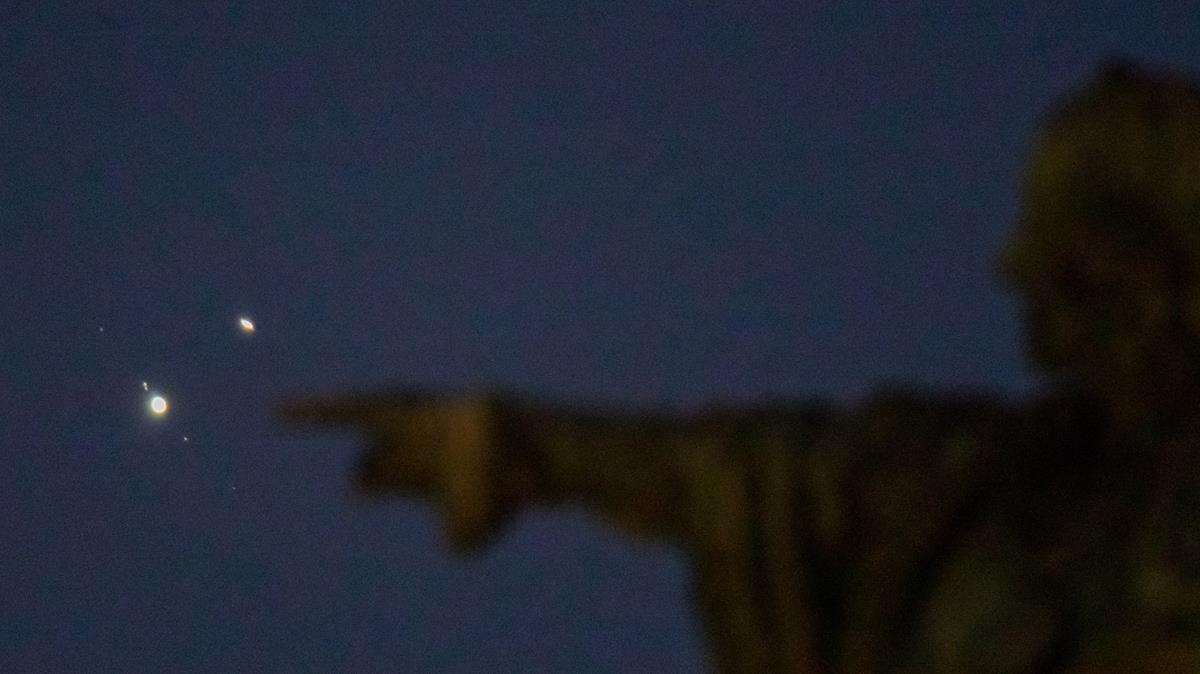 Estrella Belén 2020: así ha sido la conjunción Júpiter Saturno