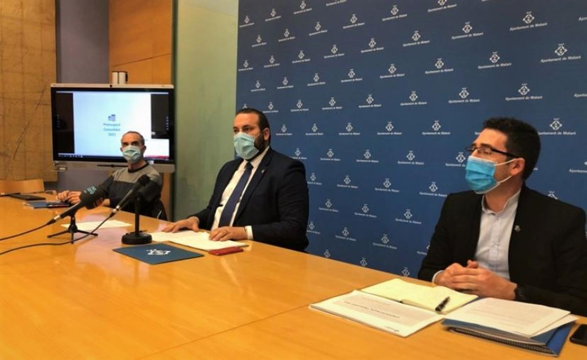 L'Ajuntament de Mataró presenta per al 2021 el pressupost més alt de la seva història