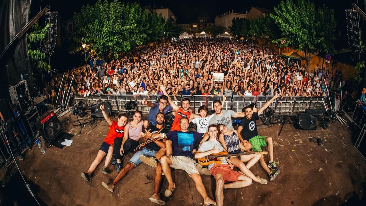 Raska, el grupo ganadordel concurso Actua Canet Rock que abrirá el festival este año.