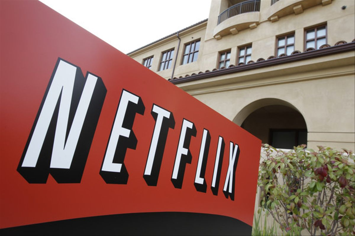 Imagen del logotipo de Netflix.