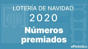 Números premiados de Lotería de Navidad 2020: resultados en vivo