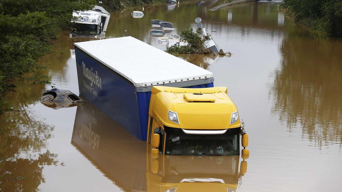 Aumentan las secuelas del temporal que azota el Centro de Europa.