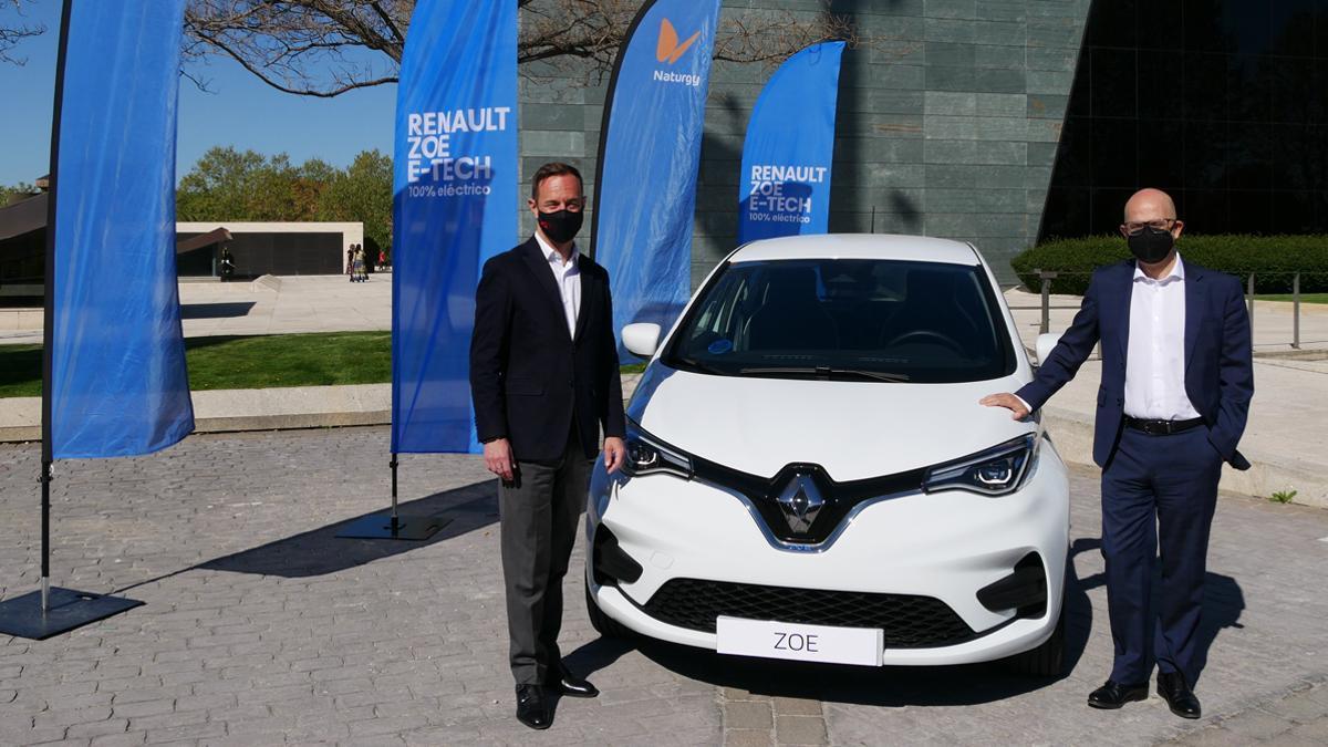Acuerdo Renault y Naturgy