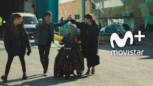 Escena de la primera temporada de 'Los espabilados'.