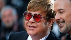 Elton John y David Furnish.