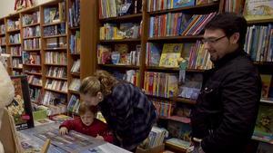 Interior de la librería Fabre de Barcelona, en una imagen de archivo.