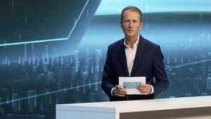 Herbert Diess, CEO del Grupo Volkswagen, en el Power Day