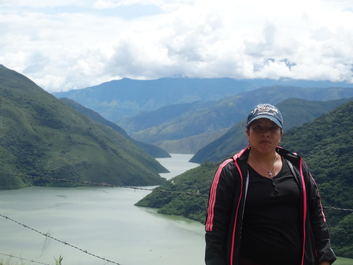 Milena Flórez, activista del proyecto Ríos Vivos.