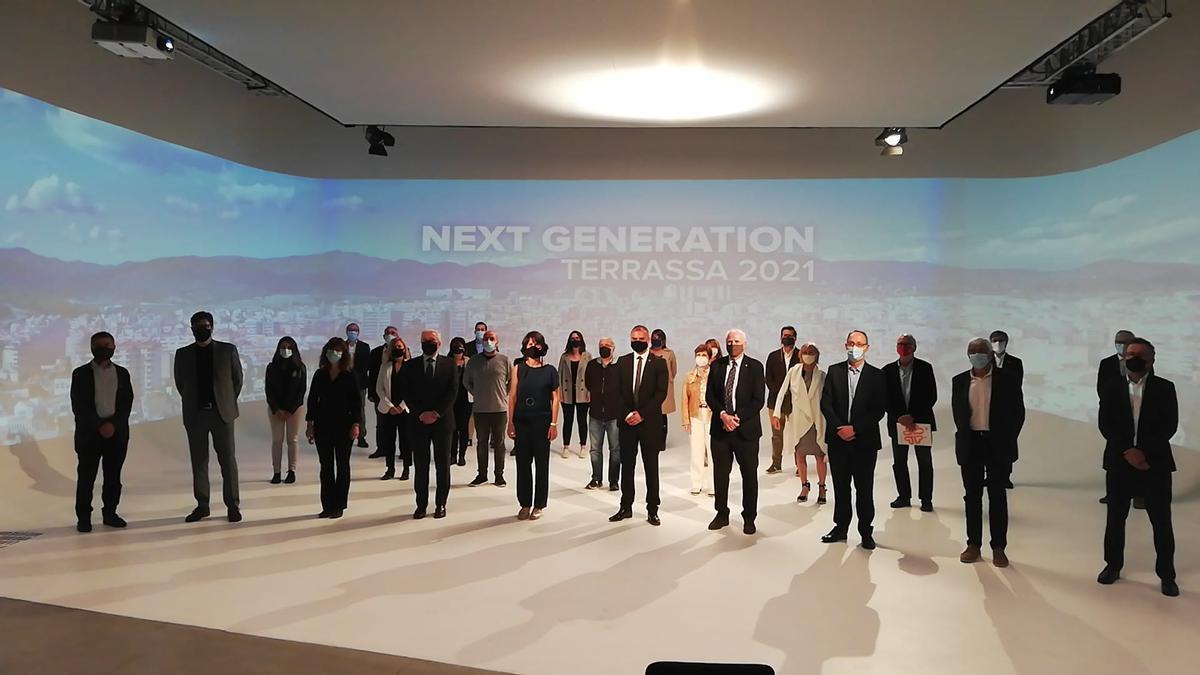 Presentación de las propuestas de Terrassa para los fondos europeos Next Generation