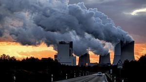 Emisiones de la central térmica de carbón de la ciudad alemana de Boxberg, en una imagen del 2017.