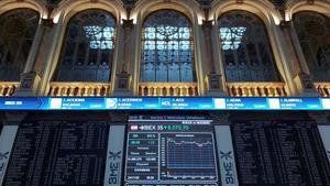 La Bolsa de Madrid, a medidados de este mes d enoviembre.