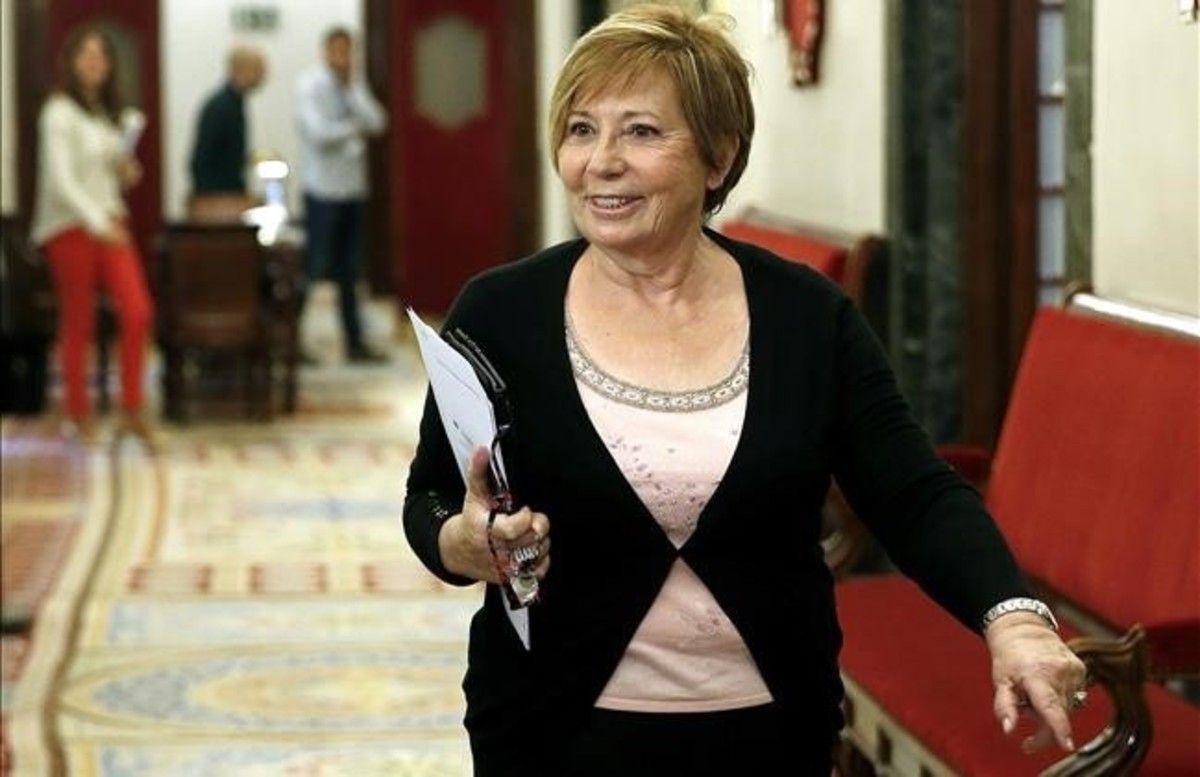 La diputada Celia Villalobos, que preside la Comisión del Pacto de Toledo, en una imagen de archivo.