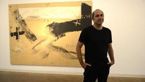 Carles Guerra, ahir a la Fundació Tàpies.