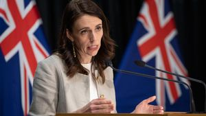 Nueva Zelanda extiende el confinamiento de Auckland hasta el 26 de agosto por el coronavirus. En la foto, la primera ministra,Jacinda Ardern.