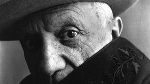 Pablo Picasso, en un retrato de 1957.